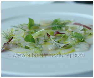 Whiting Carpaccio