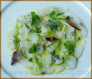 z2a Whiting Carpaccio 300x257 Pier Restaurant