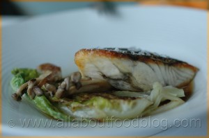 Roasted Barramundi