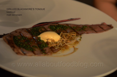 Course 2 Blackmore Tongue Tomislav Restaurant