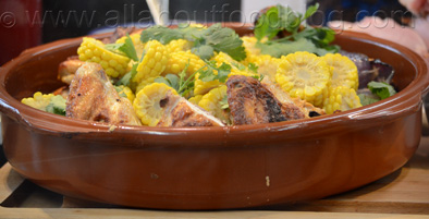 z3 Roasted Chicken Sweet Corn and Harissa 11.50 Kitchen by Mike
