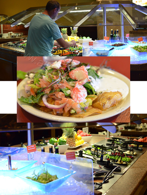z6 Salad Bar Sizzler