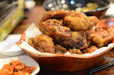 Sweet Soy Sauce deep fried chicken