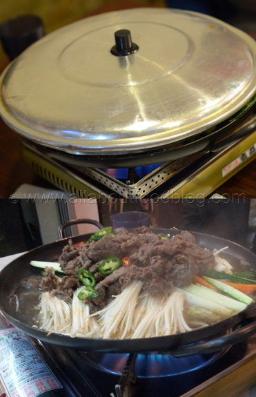 Beef and Enoki Hotpot
