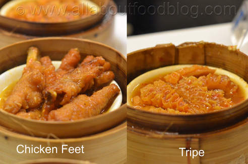 Chicken Feet and Tripe