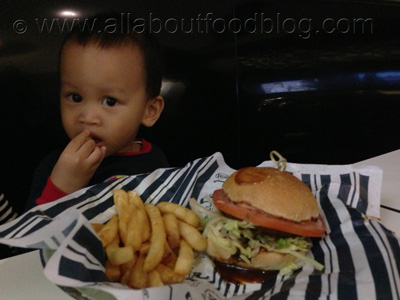 Kids Range Beef Burger