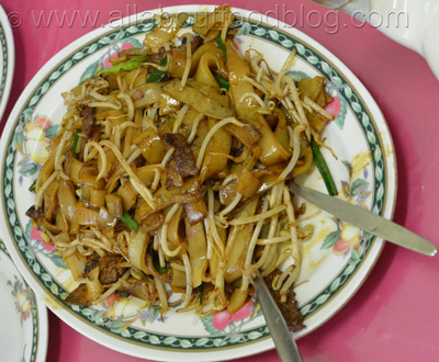 Stir Fried Rice Noodles with Beef