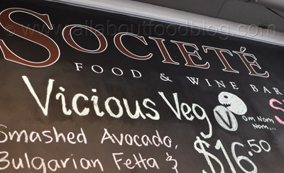 Societe Food and Wine Bar