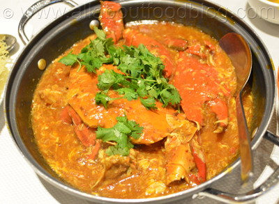 Singaporean Chilli Crab