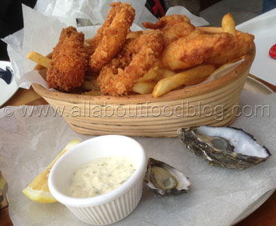 Fisherman's basket for two