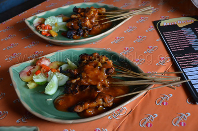 Sate Kelinci Barbeque