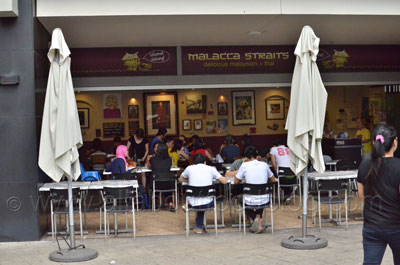 Malacca Straits on Broadway Restaurant