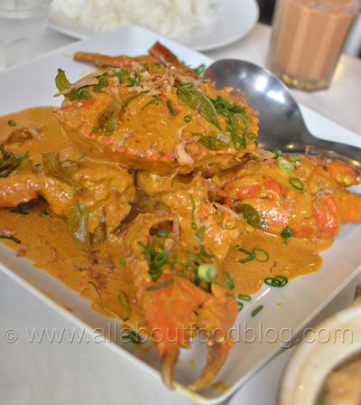 Dry Curry Crab
