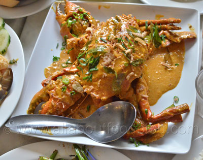 Dry Curry Mud Crab