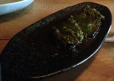 Beef Brisket with chimichurri