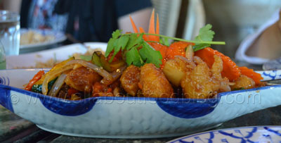 Sweet and Sour Fish from ChaoPraya Thai Restaurant
