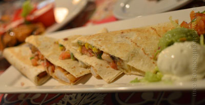 Chili Shrimp Quesadillas from Chilis American Grill Bar