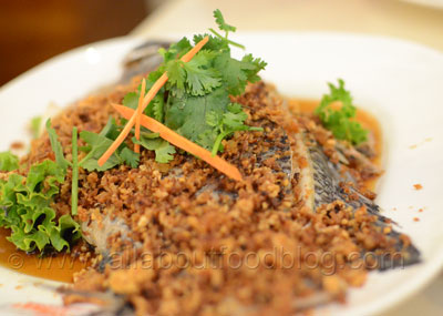 Steamed Fish with Radish