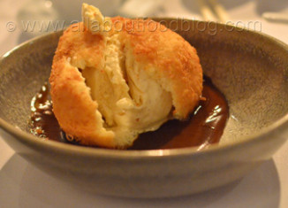Deep Fried Ice Cream from Mr Wong