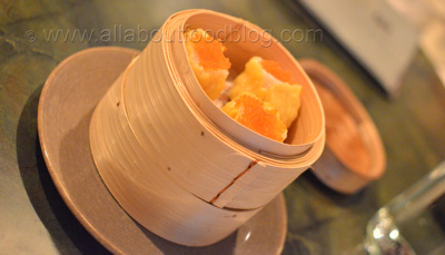 Scallop and prawn shumai (3 pieces) - $9.8
