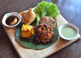 The Colonial Vegetarian Platter | The Colonial Restaurant