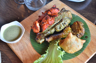 The Colonial Non-Veg Platter ($14)