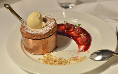 Mixed Berry Souffle