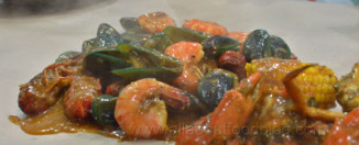 Seafood Mix from Cut The Crab