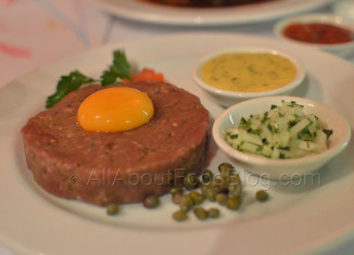 Steak Tartare from Sel Et Poivre