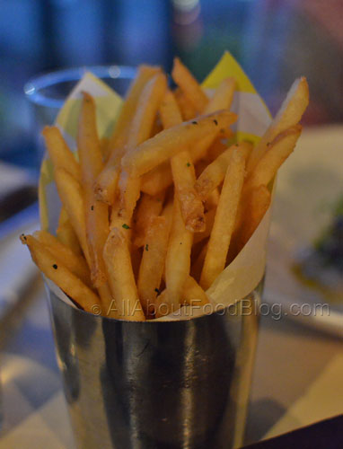 French Fries Fresh herbs - $9