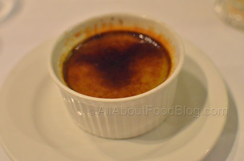 Mattcha Brulee – Green Tea Custard Brulee