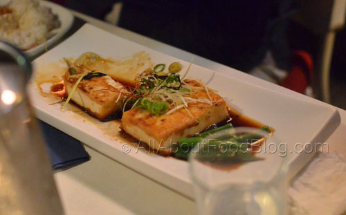 Tofu Steak with Teriyaki Sauce