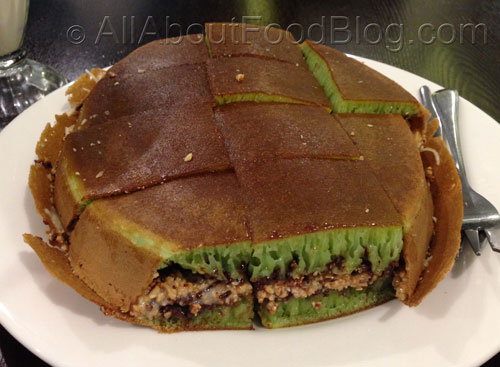 Martabak Manis Pandan Chocolate Peanut and Cheese $17.95