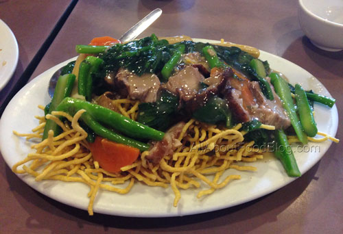 Crispy Noodles with Duck