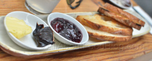Sourdough toast w Vegemite, Butter & Jam – $6