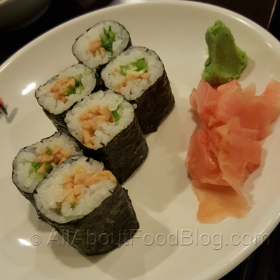 Natto thin roll (6 pcs) - $4.00