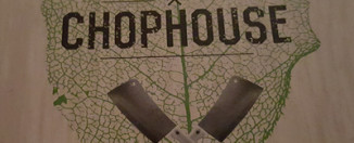 Chophouse Menu