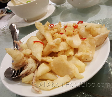 Salt and Pepper Squid - $25.00