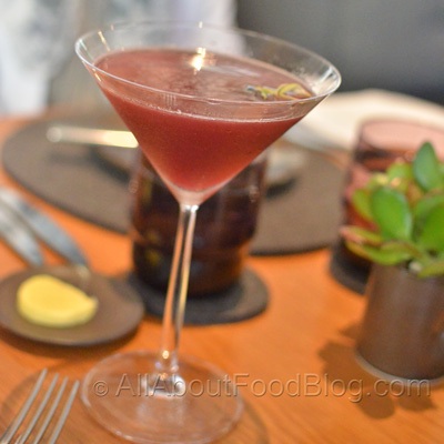 Berry with Yuzu Cocktail