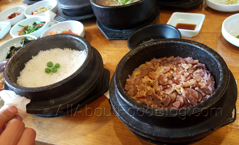 Special Rice (Youngyang Dolsotbab) vs normal rice - $3