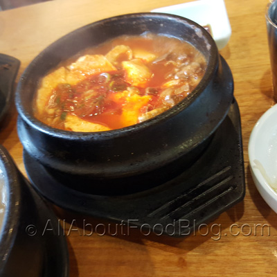 Beef Bulgogi and Tofu Soup - $25
