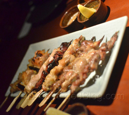 Yakitori Omakase Mori – Rp 99k – 8kind charcoal grilled chicken skewers