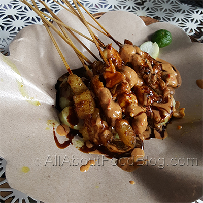Sate Ayam Lavie