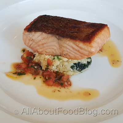 Citrus marinated Tasmanian Salmon