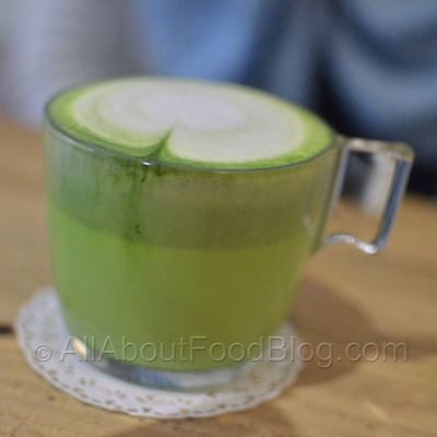 Hot Matcha Latte – 20k