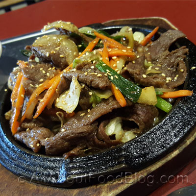 z3 Beef bulgogi with rice - 1650
