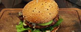The Apple Lamb Burger from Ribs and Burgers Zetland