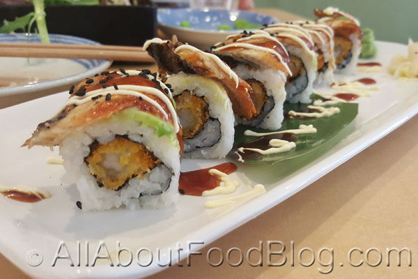 Dragon Roll from Shinsen