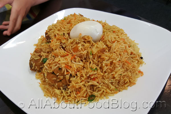 Chicken Biryani from Haji's Biryani Restaurant