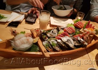 z4 Sashimi Boat from Masuya Japanese Restaurant